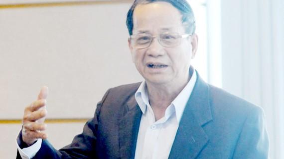 PGS-TS Ngô Trí Long, nguyên Phó Viện trưởng Viện Nghiên cứu khoa học thị trường giá cả (Bộ Tài chính)