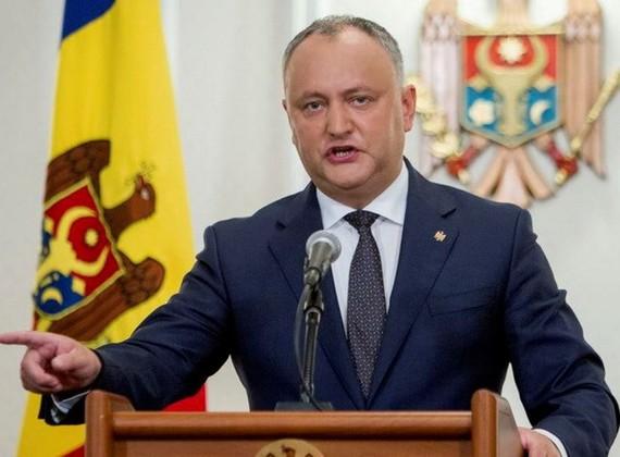 Tổng thống Moldova Igor Dodon. Nguồn: EPA