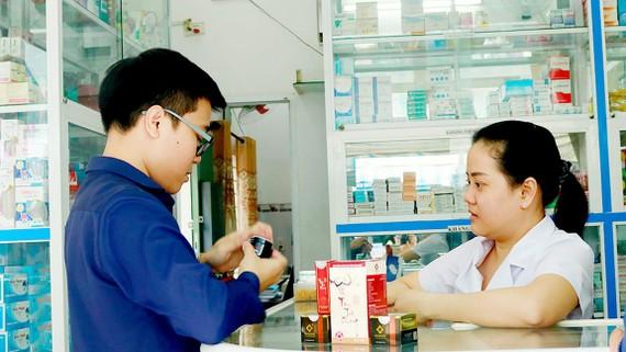 Sản phẩm trị mụn Tâm Tuệ Khang được bán rộng rãi ở các nhà thuốc