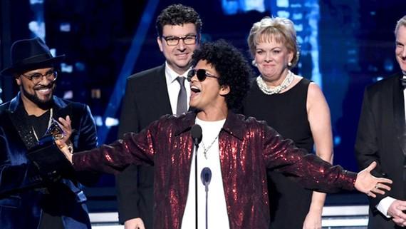 Lễ trao giải Grammy 2018: Bruno Mars thắng lớn
