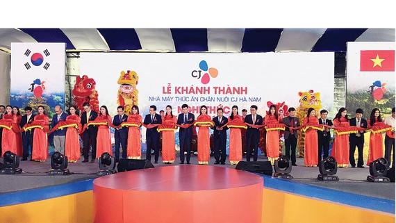 Tập đoàn CJ khánh thành  Nhà máy Thức ăn chăn nuôi Hà Nam