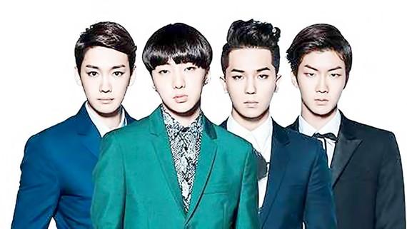 Nhóm nhạc WINNER sẽ có mặt trong buổi ra mắt V Heartbeat số đầu tiên, tại Nhà hát Hòa Bình