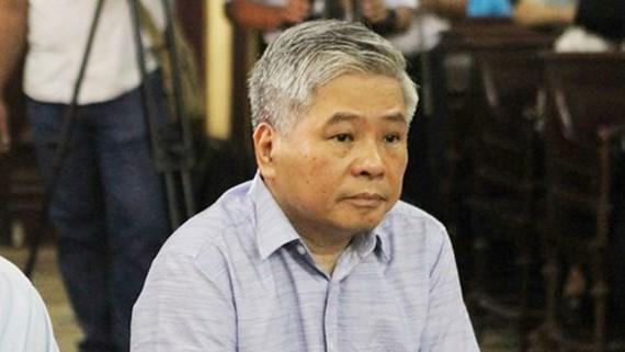 Bị cáo Đặng Thanh Bình tại phiên tòa.