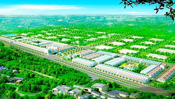 Phối cảnh tổng quan dự án Western City
