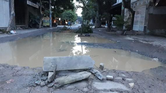 Con đường đau khổ ở quận 8