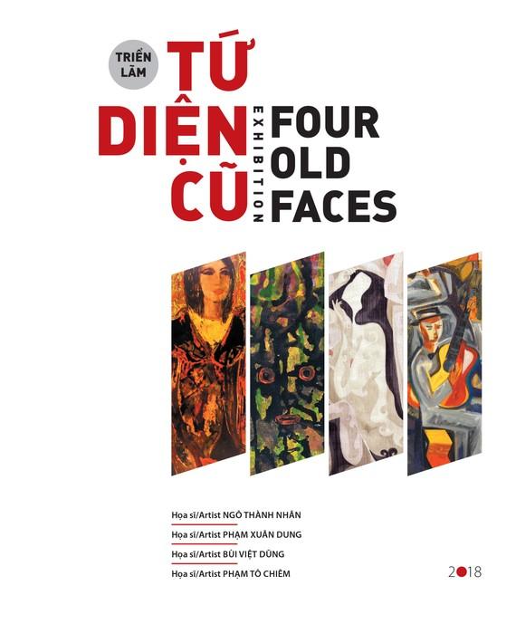 Triển lãm Tứ diện cũ quy tụ trên 70 tác phẩm
