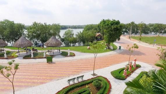 Một dự án nhà ở tại Long An vừa được đầu tư