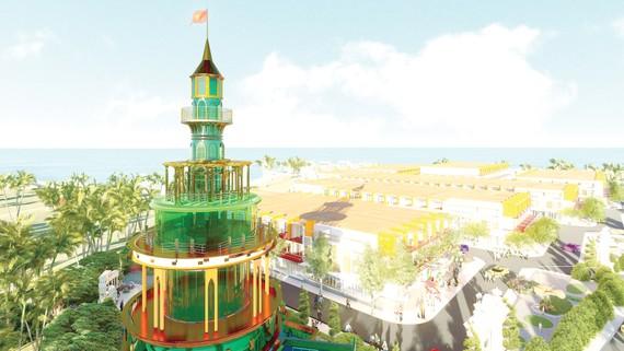 Phối cảnh dự án Ocean Gate Bình Châu - dự án đang thu hút sự quan tâm của đông đảo khách hàng