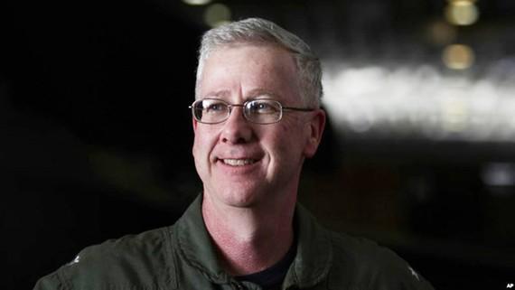 Thiếu tướng Hải quân Mỹ Kevin Sweeney. Nguồn: AP