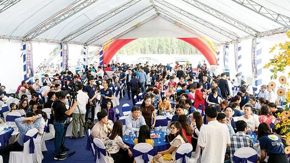 Hơn 200 khách hàng dự lễ giới thiệu dự án Ecotown Phú Mỹ