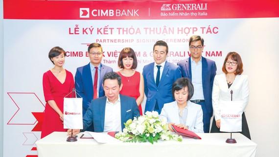 Generali Việt Nam ký kết hợp tác với cimb phát huy thế mạnh về công nghệ số