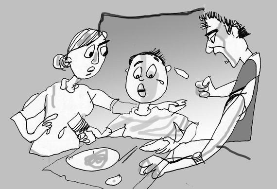 Đừng dạy con bằng tư duy bề trên