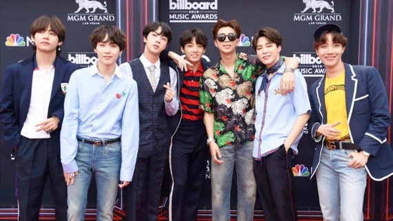 BTS tại lễ trao giải  Billboard Music Awards 2018