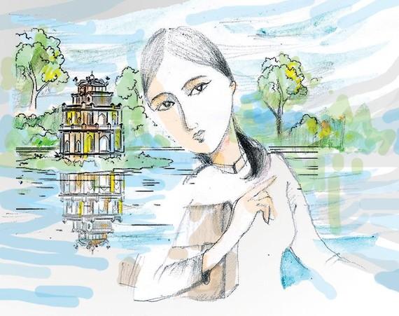 Thư viết cho em từ sông Hồng