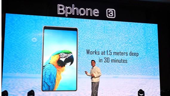 Bphone được giới thiệu  tại Myanmar