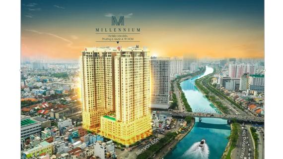 Tòa nhà Millennium giải pháp sở hữu lâu dài văn phòng hạng sang trung tâm TPHCM