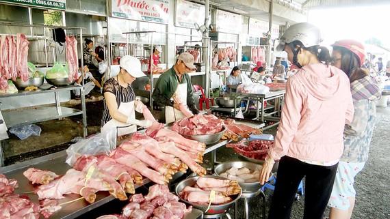 Chợ đảm bảo vệ sinh an toàn thực phẩm của TPHCM