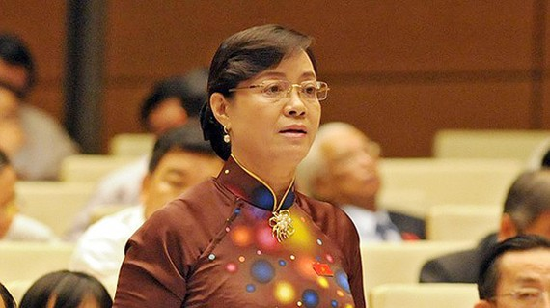 Chủ tịch HĐND TPHCM Nguyễn Thị Quyết Tâm