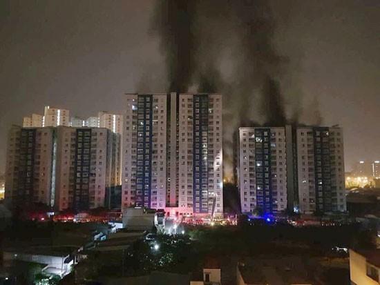 Cục Giám định kiểm tra sự cố cháy chung cư Carina Plaza