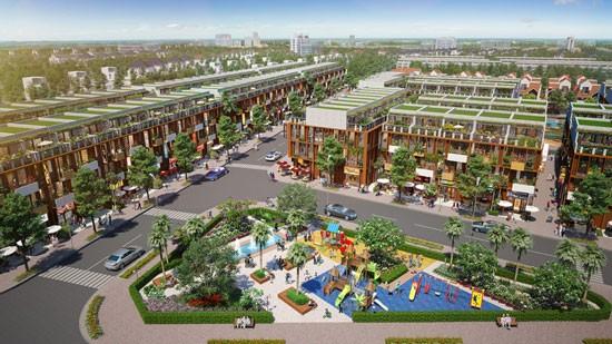 Phối cảnh dự án Long Thành Central