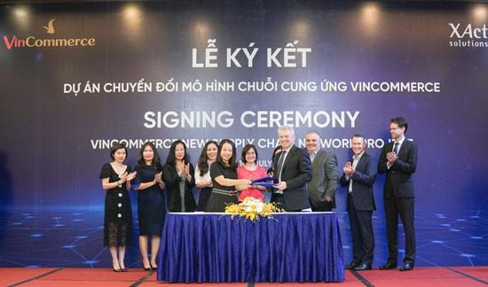 Lễ ký kết xây dựng chuỗi cung ứng VinCommerce tiêu chuẩn thế giới.