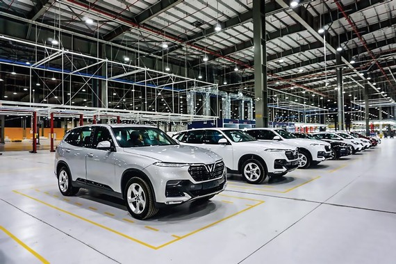 Vinfast, the Vietnamese car brand, is not 100% produced in Vietnam, but product information clearly determines the origin of components and re-assembly locations.