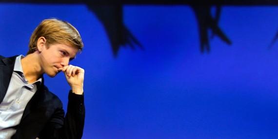 Facebook cofounder Chris Hughes. REUTERS/Adam Hunger