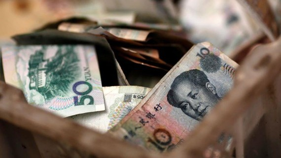Nearly 5% of all lending in China stands in default, or close to it.   © Reuters