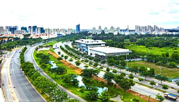 Hạ tầng giao thông tại khu Nam Sài Gòn đã làm thay đổi diện mạo của một đô thị hiện đại