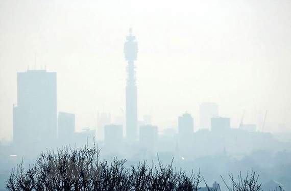 Lượng khí thải gây hiệu ứng nhà kính tăng kỷ lục