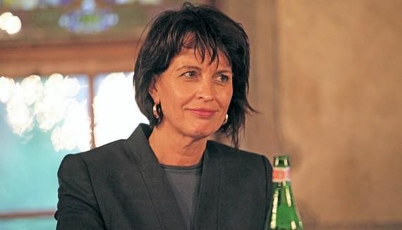 Bộ trưởng Viễn thông Thụy Sĩ, bà Doris Leuthard. (Nguồn: Dailypost)