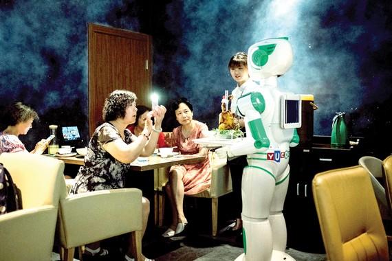 Trung Quốc phát triển nhiều loại robot