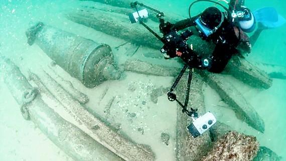Phát hiện xác tàu 400 năm tuổi