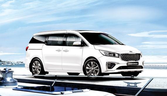 Kia Sedona mới thu hút sự quan tâm của khách hàng Việt, giá bán dự kiến nằm trong khoảng 1,1 - 1,4 tỷ đồng