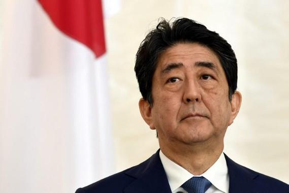 Thủ tướng Shinzo Abe. Ảnh: Reuters.