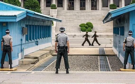 Khu vực phi quân sự DMZ. Ảnh: Reuters