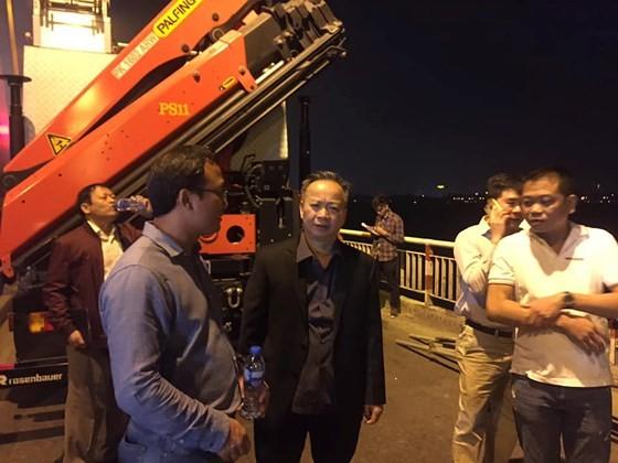 Lãnh đạo UBND TP Hà Nội  và UB ATGT quốc gia có mặt để chỉ đạo công tác tìm kiếm.