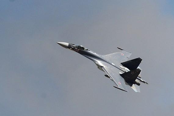 Chiến đấu cơ Su-27 của Nga. Ảnh: Tass