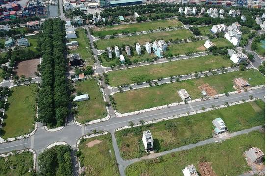 Đất nền phân lô tại quận 2                                 Ảnh: CAO THĂNG