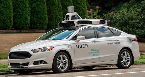 Uber tiếp tục xúc tiến thử nghiệm xe tự lái