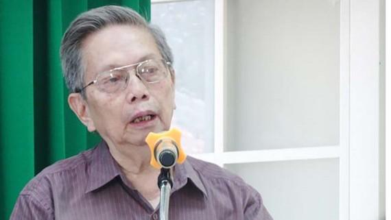 NGND- GS- TS Nguyễn Ngọc Giao lúc sinh thời. Ảnh: Hội Đông y TPHCM