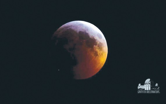 Thiên thạch đâm vào Mặt trăng