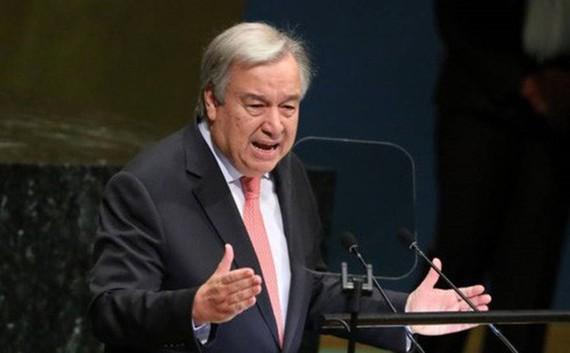 Tổng thư ký Liên Hợp Quốc Antonio Guterres. Ảnh: Reuters.