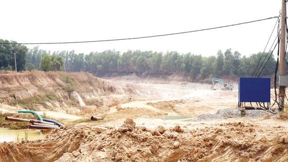 Khai thác quá sâu gây thiếu nước sinh hoạt cho người dân
