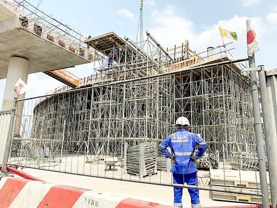 Một công trình xây dựng do Nhật Bản đầu tư ở Bờ Biển Ngà