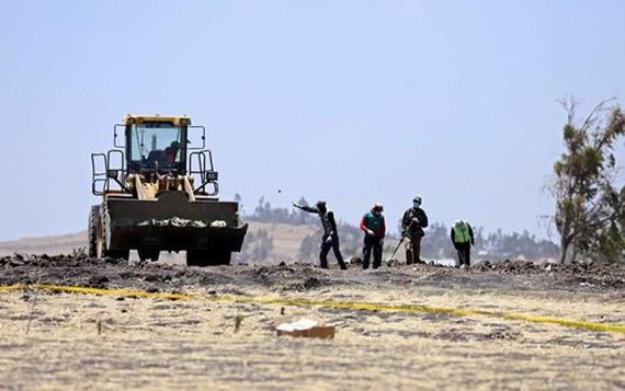 Hiện trường vụ tại nạn hôm 10-3. Ảnh: Reuters