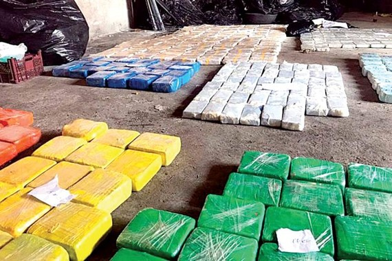 Ukraine thu giữ hơn 700kg ma túy