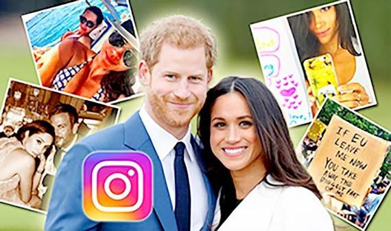 Vợ chồng Hoàng tử Harry phá kỷ lục trên Instagram