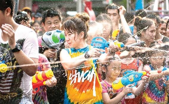 Thái Lan tăng cường an ninh dịp lễ Songkran