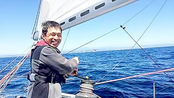 Người khiếm thị đầu tiên tự vượt Thái Bình Dương